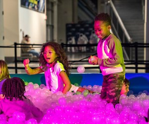 Make time for a dip in the ball pit at Liberty Science Center. Photo courtesy of LCS
