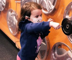 Long Island Children's Museum is open for the winter break.
