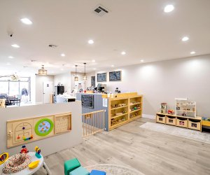 Lidia's Play Cafe is a warm, cozy encironment.