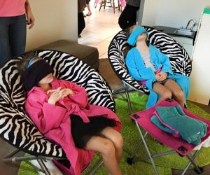 Lil Divas Spa on the Go at-home birthday party services
