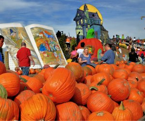 Pumpkinland at Linvilla Orchards. Photo by R.Kennedy for Visit Philadelphia