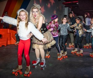 Brooklyn's only indoor roller rink Dreamland pops up at City Point Brooklyn this winter. Photo courtesy of Dreamland