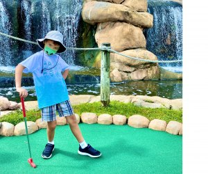 Get lost in the excitement of mini golf at Lost Caverns. Photo by David Sibila