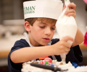 Kids will love this cake decorating workshop at Lyman Orchards' Apple Barrel farm market. Photo Courtesy of Lyman Orchards