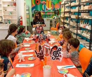 Kid's Indoor Birthday Parties in Houston: The Mad Potter