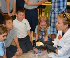 Mad Science hosts an after-school program at a private school/Photo courtesy Mad Science