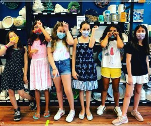 group of kids summer camp MADE: my art + design experience westchester affordable summer camps