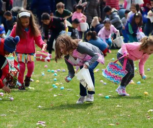 Get ready to grab a basket full of eggs at the Great Chicago Egg Hunt at Maggie Daley Park. Photo courtesy of the park