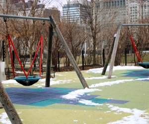 By the time the snow is gone, the parks will be open. Photo courtesy Maggie Daley Park