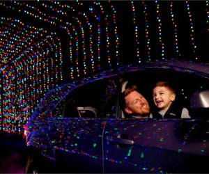 There will a new drive-thru lights display in Wallingford. Photo courtesy of Magic of Lights
