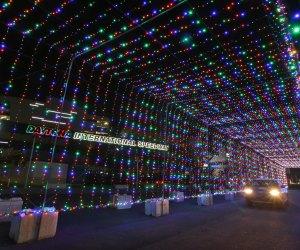 Drive through the Magic of Lights this holiday season. Photo courtesy of Daytona Beach Area Convention and Visitors Bureau