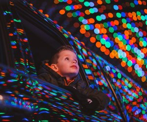 Take in the twinkling holiday lights at the Magic of Lights at Jones Beach or another seasonal drive-thru attraction. Photo courtesy of Magic of Lights
