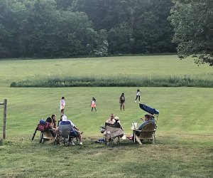 Magnanini Winery offers plenty of space to spread a picnic blanket and enjoy a tasting flight in the great outdoors.