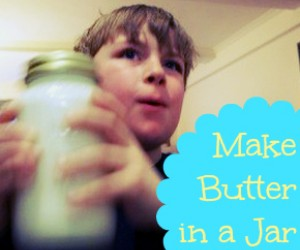 Shake up that butter!