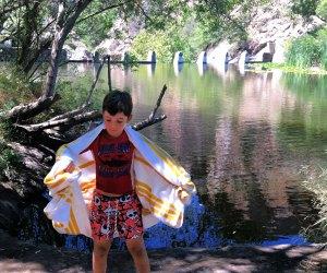 Take a  swim at Malibu Creek State Park. Photo by Meghan Rose