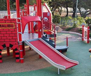 The Best Toddler Playgrounds in LA:Malibu's The Playground