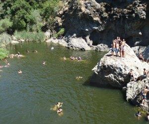 Malibu Creek Rock Pool, photo by James OBrien II/Flickr