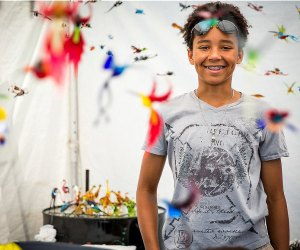 Immerse yourself in a world of color at the Manayunk Arts Festival. Photo by JPG Photography