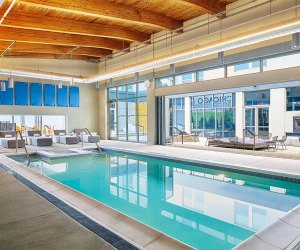 Alfot Hotel Pool Rosemont Where To Go Swimming in Chicago With Kids this Winter