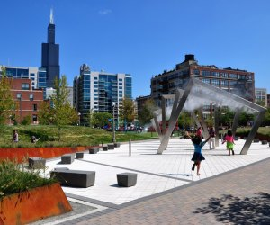 Water Playgrounds and Spraygrounds for Chicago Kids: Mary Bartelme Park