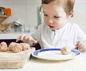 Go ahead, let kids get dirty and help you craft some restaurant-quality secret recipes in your home kitchen.