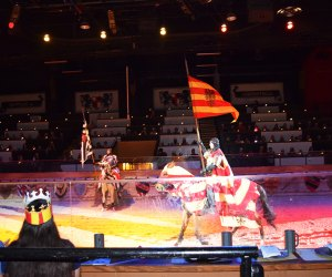 Medieval Times offers dinner with a knight show