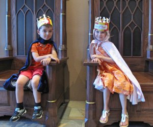 Take your little King or Queen (or both) to Medieval Times.