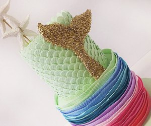 There Should Always Be Cake's elegant mermaid cake
