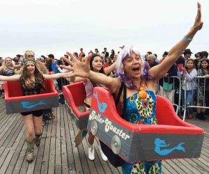 Mermaid Parade Marchers on Coney Island