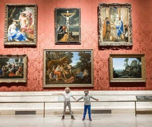 The Museum of Fine Arts is back open for little art explorers. Photo courtesy of the MFA
