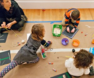 25 Things To Do with Kids on a Rainy Day in Boston: arts & crafts