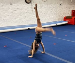 ISG Gymnastics teaches kids agility, confidence, discipline, and more. Photo by the author