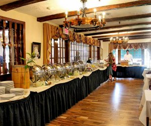 The Milleridge Inn hosts a decicious buffet brunch.