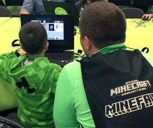 Mini Minecraft fans can meet other players, solve challenges, and even participate in a Minecraft costume contest. Photo courtesy of the event