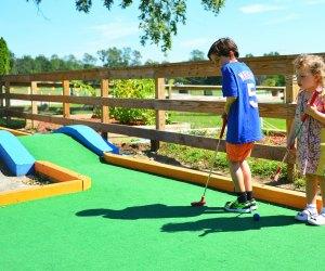 Turtle Cover Golf Center's mini-golf course