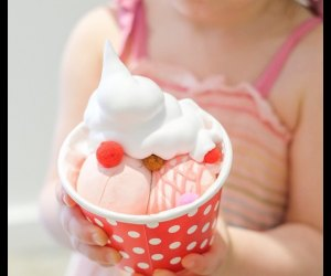 Slime ice cream?  It's a thing. Photo courtesy of Minni