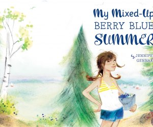 My Mixed-Up Berry Blue Summer. Image courtesy of HMH Books for Young Readers