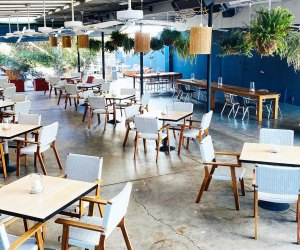 LA Restaurants with Outdoor Seating for Kids: Momed Restaurant middle eastern