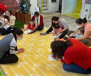 House of Playful Soul offers plenty of enriching mommy-and-me classes for ages 3 months and up. Photo courtesy of the venue