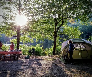 Mongaup Camp attracts plenty of families thanks to its lake-front location and friendly park rangers. Photo courtesy of the site