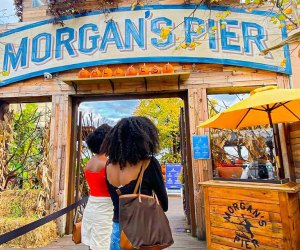 Morgan's Pier transforms into an autumn wonderland with Fall Fest, every weekend through October 29. Photo courtesy of Morgan's Pier