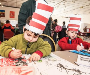 Celebrate Dr. Seuss at the Morris Museum. Photo courtesy of the museum