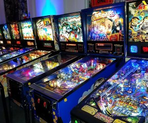 Old-school arcades and pinball are the draw at Game Vault in Morristown.
