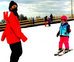 Enjoy free skiing lessons at Mount Peter Family-Friendly Skiing and Snowboarding Spots Around NJ