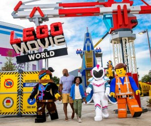 Movie World opens this month at Legoland. Photo courtesy of Legoland