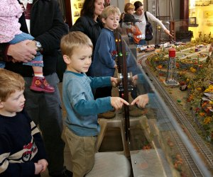 Train lovers can marvel at Mr. Gilbert's Railroad. Photo courtesy of the Eli Whitney Museum