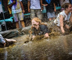 Muddy Puddles Mess fest. Photo courtesy of the event