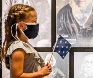 Learn about the Revolution and the earliest days of the republic. Photo courtesy of the Museum of The American Revolution