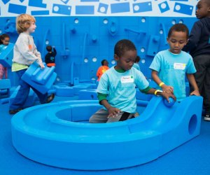 Play-Work-Build at the National Building Museum is part learning center, part play area. Photo courtesy of the museum