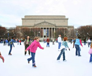 Skate in the shadow of the National Gallery of Art. Photo by Elvert Barnes/CC BY 2.0
